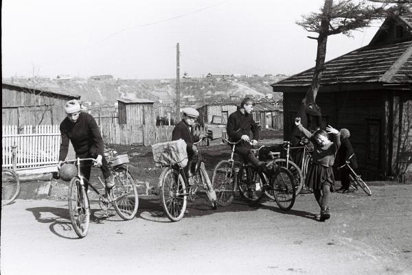 Поход на велосипедах 1967г.