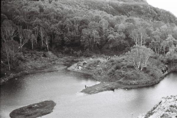 Озеро Октябрьское 1967год