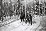 Поход на лыжах 1967г.