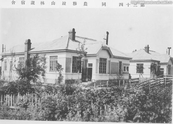 Дома лесной и сельскохозяйственной службы