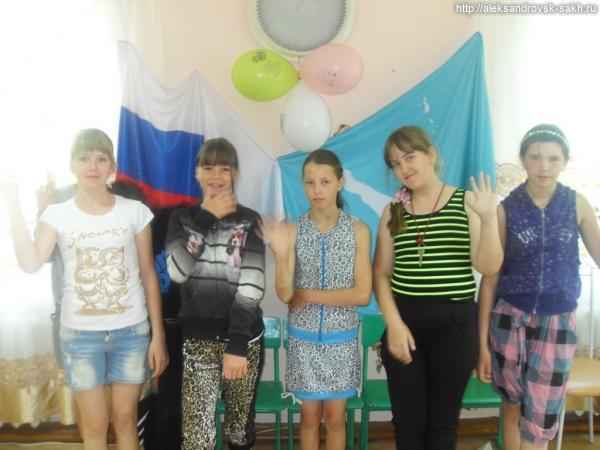 Юные михайловцы проверили свои знания и неплохо отдохнули на главном празднике страны