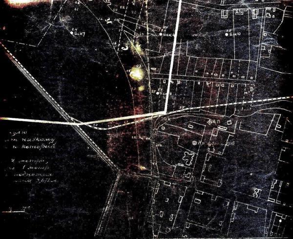 План Александровска съемки 1914-1929 гг.