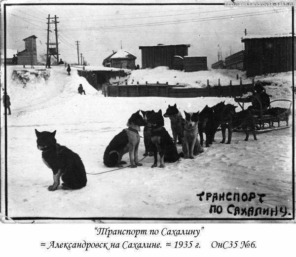 Транспорт по Сахалину.