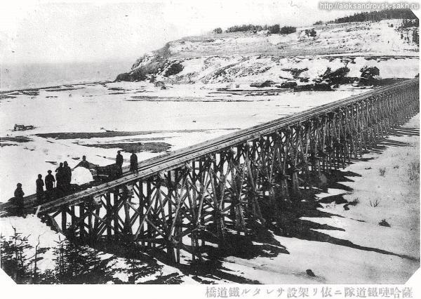 Железнодорожный мост в Арково