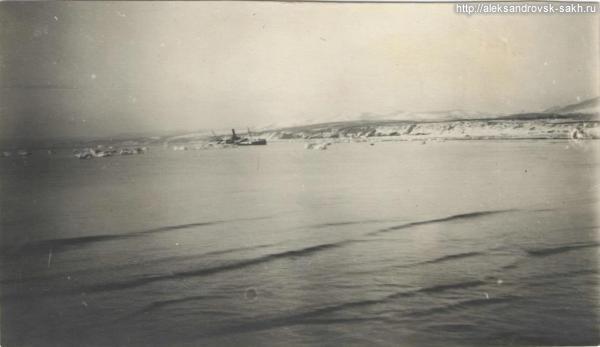 Вид на берег с александровского пирса