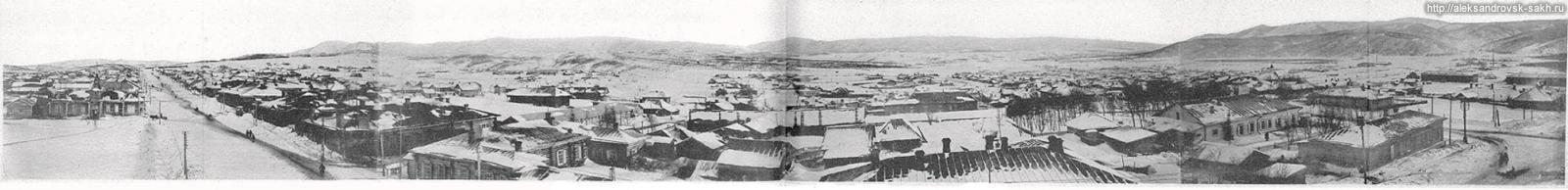 Панорама Александровска с пожарной каланчи