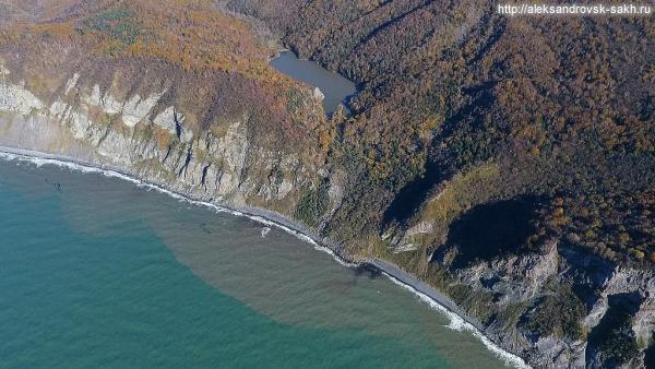 озеро Октябрьское. 8 октября 2016 г.