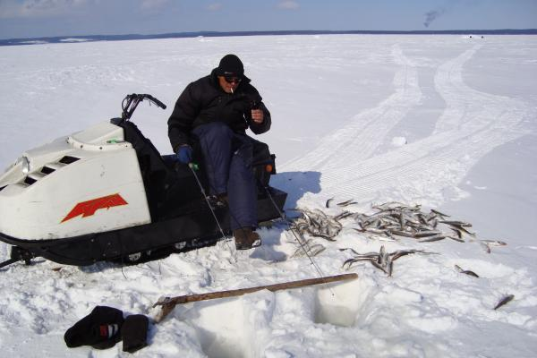 Весенняя рыбалка.