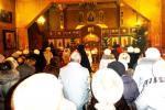 Рождественская служба в Покровском храме