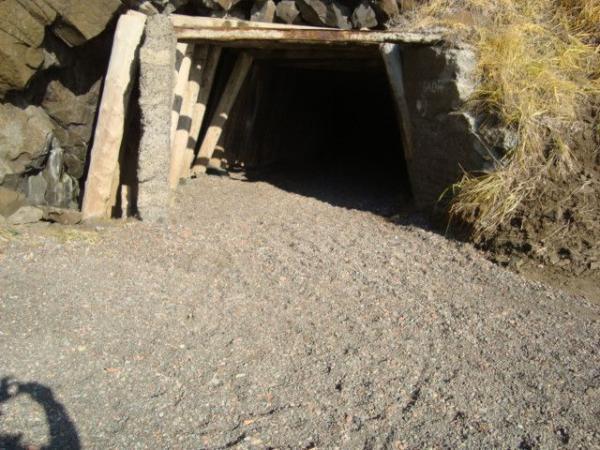 Южная сторона туннеля.