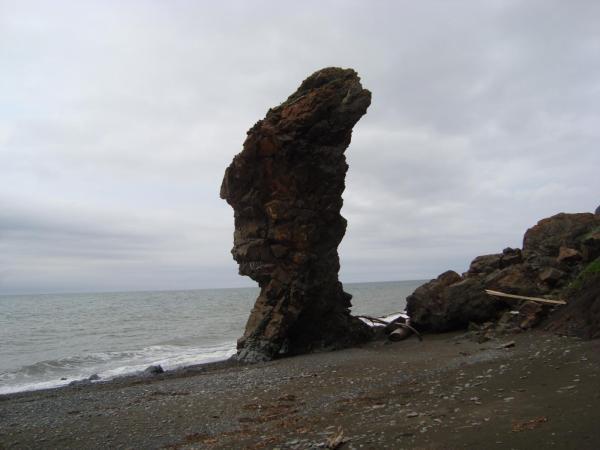 Каменный исполин.