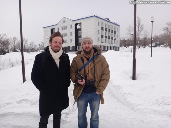 Гости Александровска