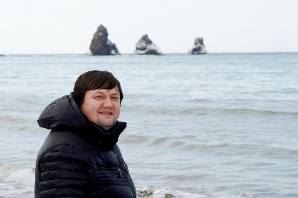 Игорь Слуцкий в г.Александровске-Сахалинском декабрь 2012 года