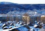 зимнее утро в городе