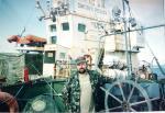 Человек и пароход