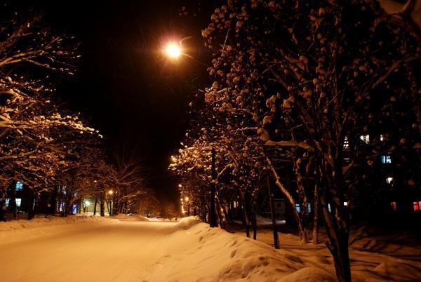 Город перед Рождеством