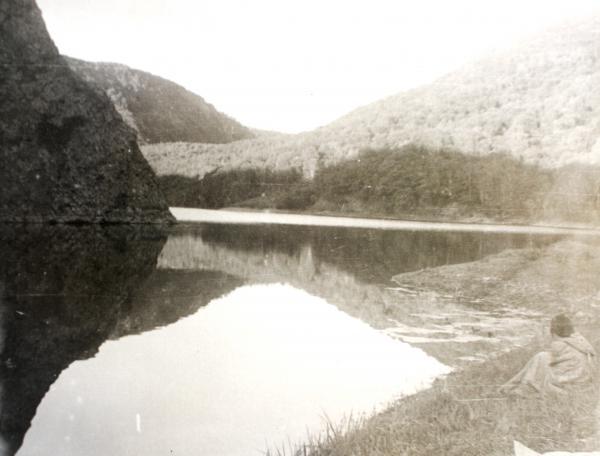 Озеро Октябрьское июнь 1975 года.