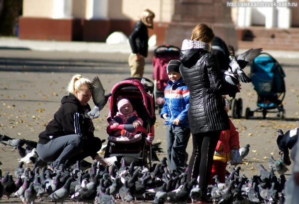 Бабье лето в Александровске