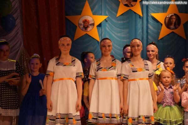 Выпуск-2016 г. в народном хореографическом ансамбле «Сахалиночка»
