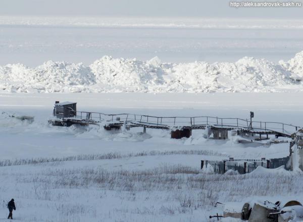 Особенности зимней рыбалки в Александровске