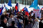 Мы вместе! Александровцы поддерживают Крым!
