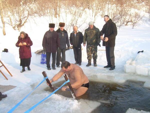 С Крещением Господним александровцы!