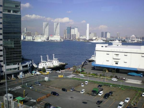 Скоро зацветет сакура... (Токийский залив)