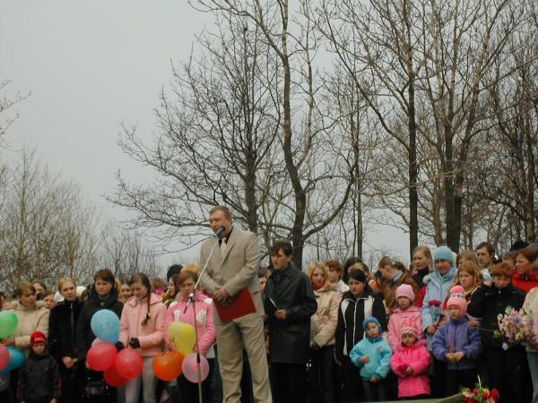 Вице мэр Красковский А.В.9 мая 2006г г.Александровск-Сахалинский