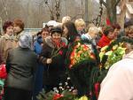Возложение цветов .9 мая 2006г