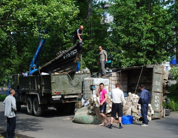 Большая авария на улице Советской. 28.08.2011