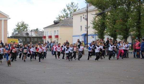 """Общероссийская акция """"Кросс Нации 2012"""" в нашем городе"""