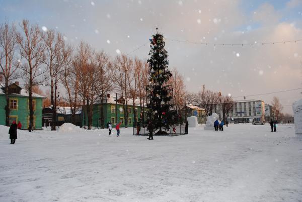 Открытие Городской Новогодней елки