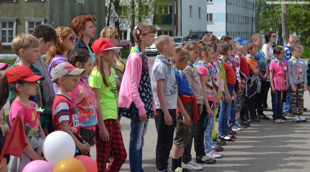 Вчера открылась первая смена детского лагеря