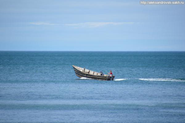 Теплым летним днем на море