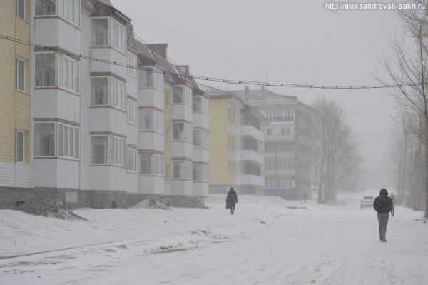 К нам вновь пришла зима