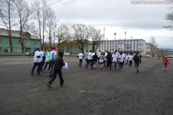 Всероссийская акция федерального проекта «Беги за мной» в Александровске