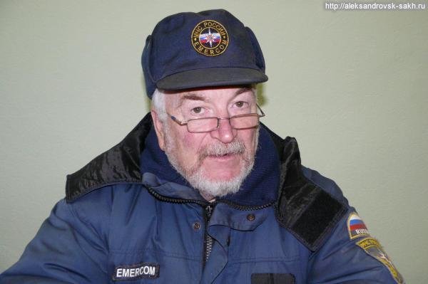Награда Александровскому спасателю