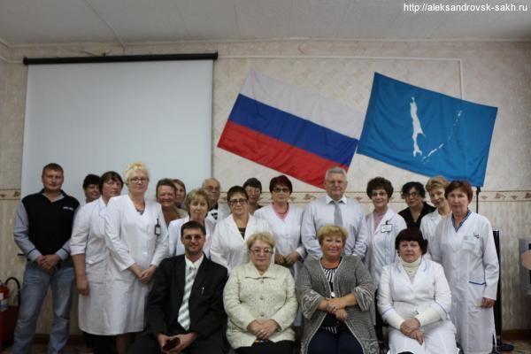 Встреча с Министром здравоохранения Сахалинской области