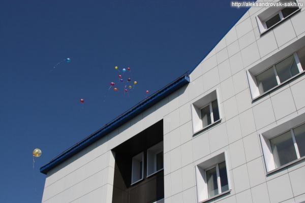 Первая сахалинская библиотека получила новое здание!