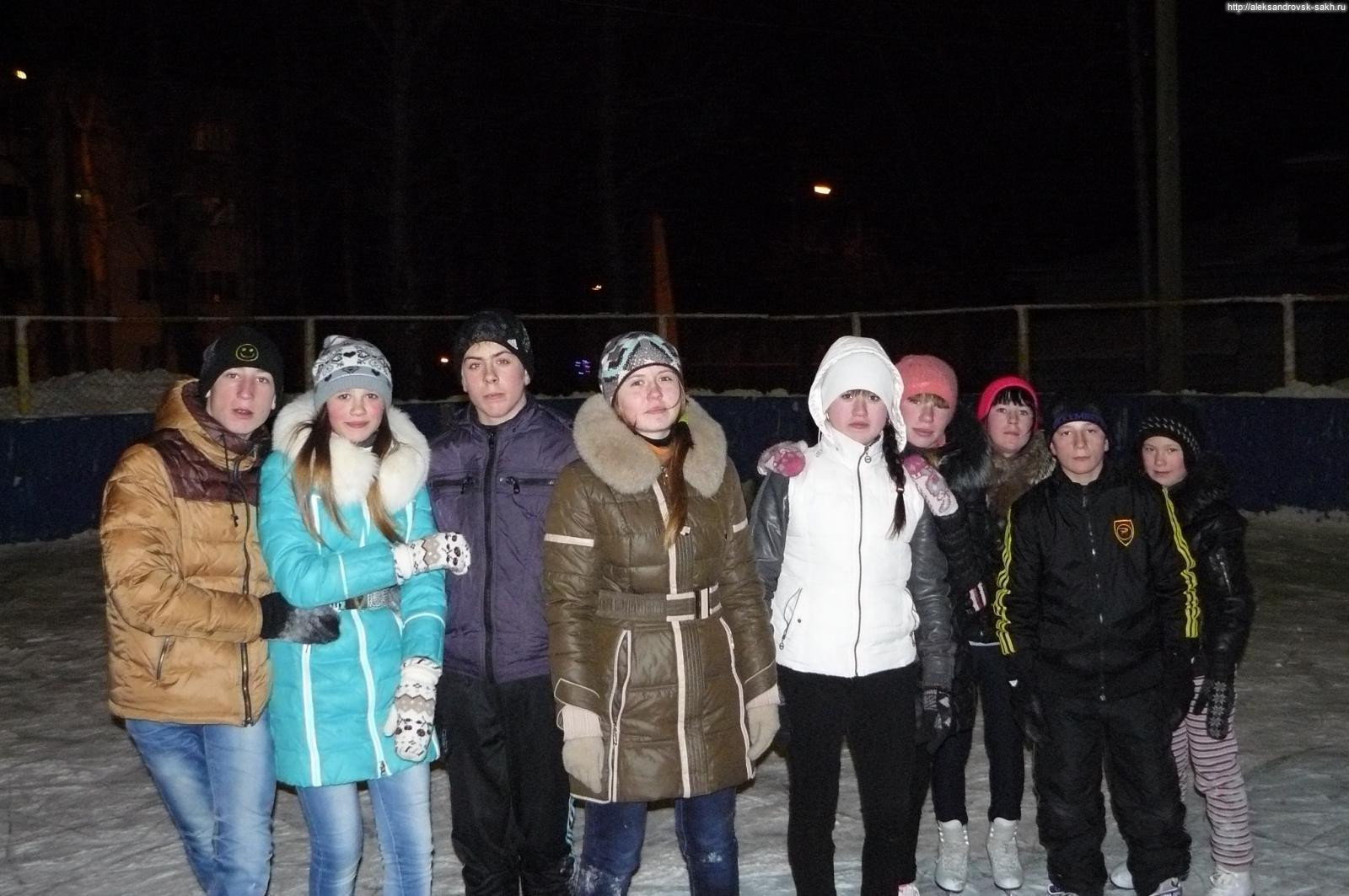 Вечером в Александровске-Сахалинском 30 декабря 2013 года