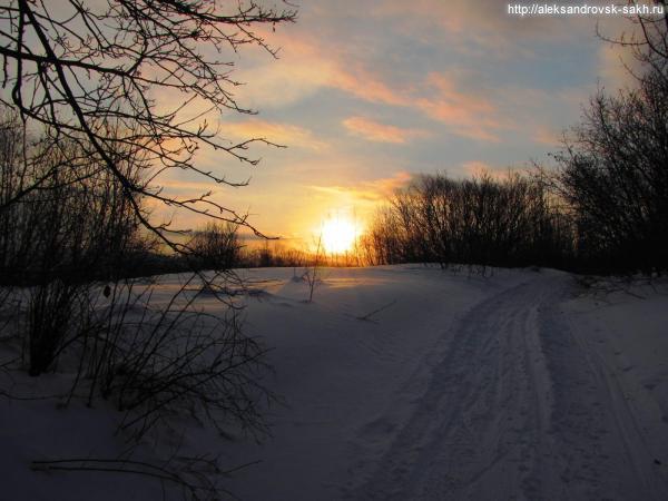 Первый восход Солнца в 2014 году.