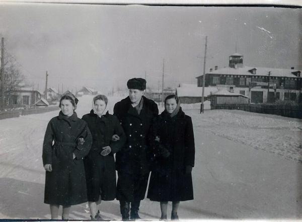 Здание пожарки 1956-1960 год
