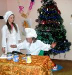 Михайловские ребятишки весело встречают Новый год!