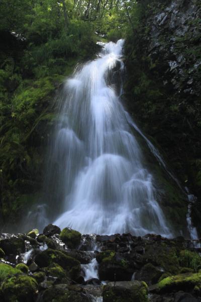 Водопад на перевале Бошняково-Смирных.