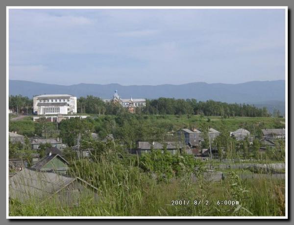 Вид на городскую церковь