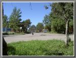 На перекрестке улиц Джержинкого и Строкова