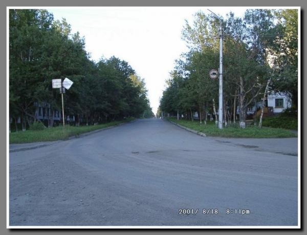 На перекрестке улиц Джержинского и Советской