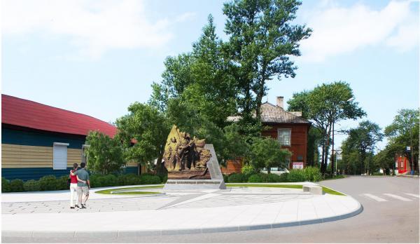 памятник мальчишкам-добровольцам