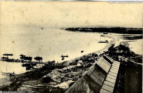 Панорама берега 1905 год