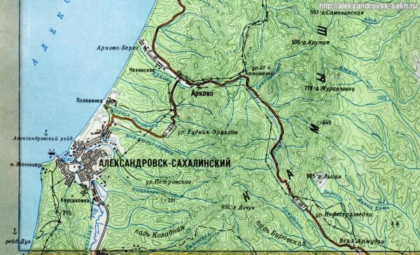 мыс Жонкиер остров Сахалин
